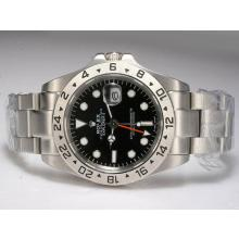 Rolex Explorer II Automatic Working GMT with Black Dial Upgrade Version