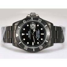 Rolex Submariner Automatic Full PVD with Black Dial(Gift Box is Included)