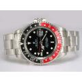 Rolex GMT-Master II Automatic Red with Black Bezel-Black Dial