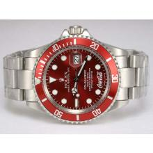 Rolex Submariner Cocacola Limited Edition Automatic with Red Dial and Bezel