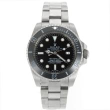 Rolex Sea Dweller Automatic Ceramic Bezel with Black Dial S/S-1