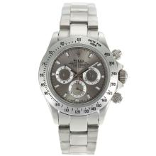 Rolex Daytona Working Chronograph Stick Markers With Gray Dial