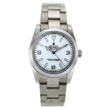 Rolex Explorer Automatic with White Dial