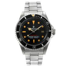 Rolex Sea Dweller Swiss ETA 2836 Movement Vintage Edition with Black Dial Orange Marking