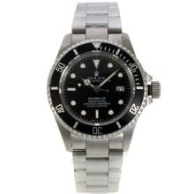 Rolex Sea Dweller Super Luminous Original Swiss Cal 3135 Automatic Movement PVD Bezel with Black Dial S/S-1:1 Version