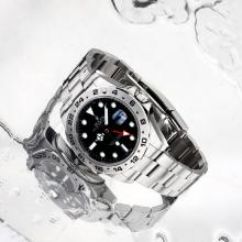Rolex Explorer II GMT Automatic with Black Dial S/S Same Structure as ETA Version-High Quality(Gift Box Included)