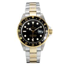 Rolex GMT-Master II Automatic Two Tone with Black Dial