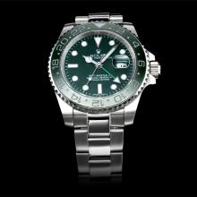 Rolex GMT-Master II Automatic Green Ceramic Bezel with Green Dial(Gift Box is Included)
