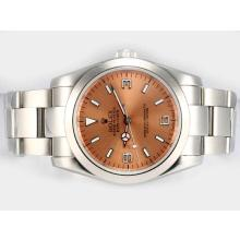 Rolex Explorer Automatic with Champagne Dial