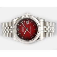 Rolex Datejust Automatic with Red Dial