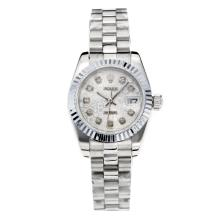 Rolex Datejust Automatic Diamond Markers with Computer Dial S/S-Sapphire Glass