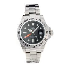 Rolex Explorer Oyster Perpetual Automatic with Black Dial S/S