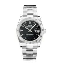 Rolex Datejust Automatic with Black Dial Stick Marking