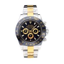 Rolex Daytona II Oyster Perpetual Automatic Two Tone with Black Bezel and Dial