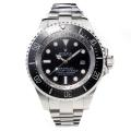 Rolex Sea Dweller Swiss Cal 3135 Automatic Movement Black Bezel with Black Dial S/S