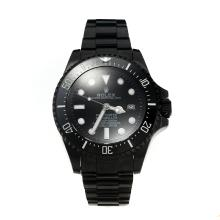 Rolex Sea Dweller Automatic Ceramic Bezel Full PVD Super Luminous with Black Dial-Same Chassis as the Swiss Version-1