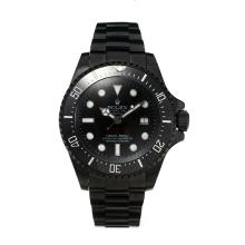Rolex Sea Dweller Automatic Ceramic Bezel Full PVD Super Luminous with Black Dial-Same Chassis as the Swiss Version