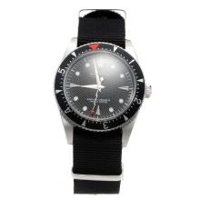Rolex Milgauss Automatic Black Dial with Nylon Strap-Vintage Edition-7