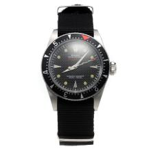 Rolex Milgauss Automatic Black Dial with Nylon Strap-Vintage Edition