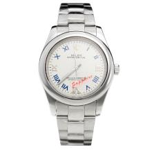Rolex Milgauss Automatic Roman Markers with White Dial S/S