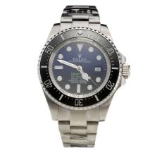Rolex Sea-Dweller Swiss ETA 2836 Movement Ceramic Bezel with Blue/Black Dial S/S