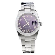 Rolex Datejust Automatic Diamond Set Bezel With Sapphire Crystal-Same Chassis With Swiss Version