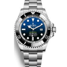 Rolex Sea-Dweller Swiss ETA 2836 Movement Blue/Black Ceramic Bezel with Blue/Black Dial S/S