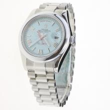 Rolex Day-Date II Automatic with Blue Checkered Dial S/S