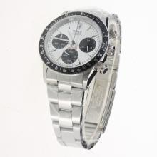Rolex Daytona Working Chronograph with White Dial S/S-Vintage Edition-4