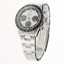 Rolex Daytona Working Chronograph with White Dial S/S-Vintage Edition-2