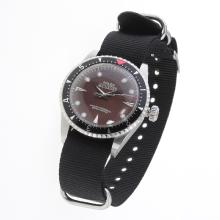 Rolex Milgauss Automatic Brown Checkered Dial with Nylon Strap-Vintage Edition-3