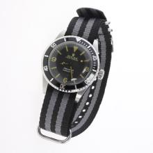 Rolex Submariner Automatic Black Dial with Nylon Strap-Vintage Edition-8