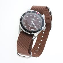 Rolex Milgauss Automatic Brown Checkered Dial with Nylon Strap-Vintage Edition-1