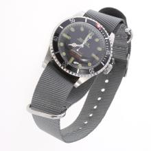 Rolex Submariner Automatic Black Dial with Nylon Strap-Vintage Edition-2