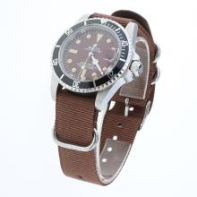 Rolex Submariner Automatic Brown Dial with Nylon Strap-Vintage Edition-1
