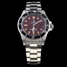 Rolex Submariner Swiss ETA 2836 Movement with Brown Dial S/S-Vintage Editioin-1