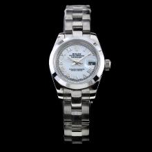 Rolex Datejust Automatic White Dial with Roman Marking-Lady Size