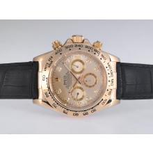 Rolex Daytona Automatic Gold Case with Golden Dail-Diamond Marking