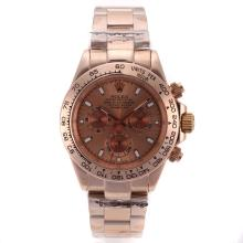 Rolex Daytona Automatic Full Rose Gold with Champagne Dial 1