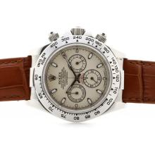 Rolex Daytona Cosmograph Working Chronograph Meteorite Dial with Stick Marking