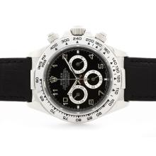 Rolex Daytona Cosmograph Working Chronograph Black Dial with Arabic Marking