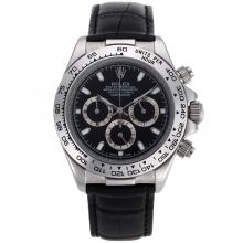 Rolex Daytona Cosmograph Working Chronograph Black Dial with Stick Marking