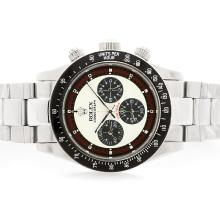 Rolex Daytona Cosmograph Working Chronograph with White Dial S/S-Vintage Edition-1