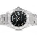 Rolex Masterpiece II Swiss ETA 2836 Movement Roman Markers with Dark Black Dial