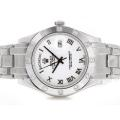 Rolex Masterpiece II Swiss ETA 2836 Movement Roman Markers with White Dial