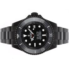 Rolex Sea Dweller Pro Hunter Deep Sea Swiss Cal 3135 Movement with Black PVD Case-Jacques Limited Edition