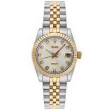 Rolex Datejust Automatic Two Tone Diamond Markers with Computer Dial Mid Size-1