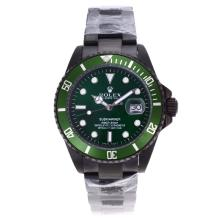 Rolex Submariner Automatic Full PVD with Green Dial and Bezel