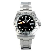 Rolex Explorer II Automatic with Black Dial S/S